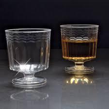 mini catering supplies 2 oz disposable mini plastic wine glasses