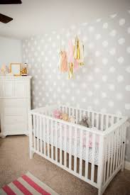 Best Wall Decals For Nursery by Best 25 Polka Dot Nursery Ideas On Pinterest Gold Dot Wall