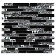chenx 11 81 in x 13 39 in aluminum metal mosaic backsplash tiles