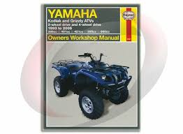 1993 2005 yamaha kodiak 400 haynes repair manual 2567 shop service