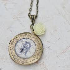 Monogram Locket Necklace Personalized Lockets Bridesmaid Lockets Bridesmaid Gift