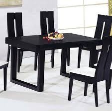 exotic black and white dining room sets simple furniture with