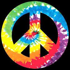 t shirt custom design hippie tie dye peace sign