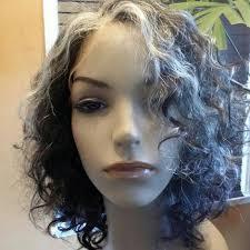 human hair in salt and pepper shop custom wig sales service repairs healthy hair care