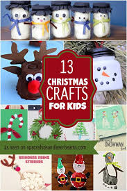 Kid Crafts For Christmas - 28 christmas crafts made from toilet paper rolls spaceships and
