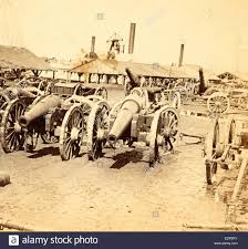 vintage siege captured siege guns at rocketts richmond va us usa america