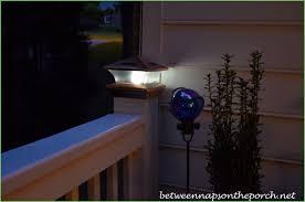 Solar Deck Lights Lowes - lighting electric deck post cap lights deck post cap lights