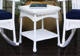 white wicker side table rattan bedside tables images about wicker side tables on white