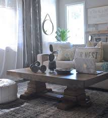 Pedestal Coffee Table Build An Easy Pedestal Coffee Table Hometalk