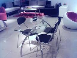 table en verre cuisine table de cuisine en verre jaol me