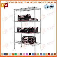 china adjustable wire bookcase shelving garage storage rack