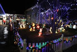photos holiday lights in easton easton journal easton ma