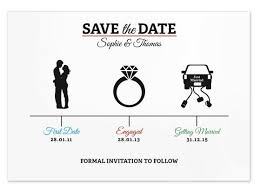 Save The Date Diy Save The Date Com Um Designer Gráfico Virtual Casar é Um Barato