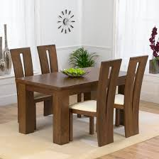 Dining Table And 4 Chairs Tremendeous 4 Seat Dining Table And Chairs 4314 In For