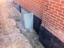 incredible waterproofing exterior basement walls impressive ideas