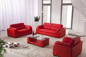 Red Sofa Set by Vg29 Sofa Set With Coffee Table Leather Sofas