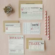 wedding invitations jakarta punch card wedding invitation offbeat invitation