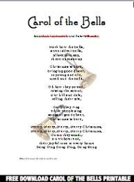 christmas carols carol of the bells lyrics video mp3 music