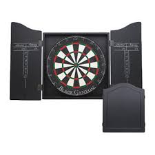 Black Canyon Dart Board Cabinet In Black Walmart Com