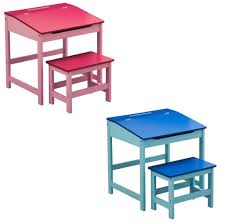furniture cheap pink and blue kids desk and chair furniture ideas