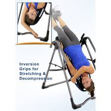 inversion bed exercising on an inversion table small tips