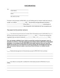 eviction notice template template trakore document templates
