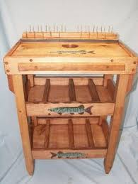 Diy Fly Tying Desk Fly Tying Material Storage Cabinet For Fly Tying Desk Hobby