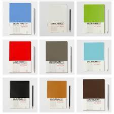 leuchtturm 1917 notebook leuchtturm1917 notebook jottbook medium soft covert a5 plain white