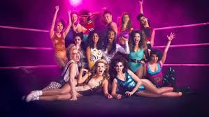 glow show vs glow themed episode to air on tbs drop the mic show sescoops