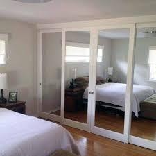 Sliding Glass Closet Door Great Sliding Mirror Closet Doors Makeover With Remodelaholic Diy