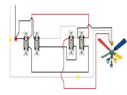 3 way fan light switch wiring diagram how to wire a ceiling fan