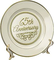 50th anniversary plates you can engrave 65th wedding anniversary plate gift for sixty