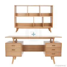 buy haakon scandinavian style bookshelf and josephine desk in