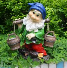 cheap pi lute fetching water and outdoor garden ornaments european