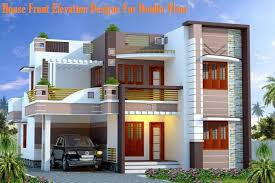 double floor house elevation photos homely design double floor house plan and elevation 14 front