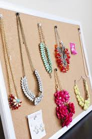 necklace holder diy images Related keywords suggestions for homemade jewelry holder organize jpg