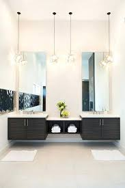 Pendant Lighting Over Bathroom Vanity Pendant Lighting For Bathroom Vanity Vanity Contemporary Master