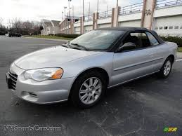 2006 chrysler sebring gtc convertible in bright silver metallic