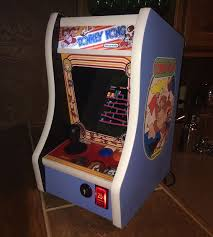 Tabletop Arcade Cabinet Donkey Kong Bartop Arcade Powered By Rpiraspberry Pi Projects