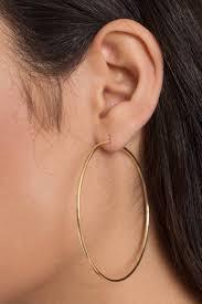 silver hoop earrings silver hoop earrings 14 00 tobi