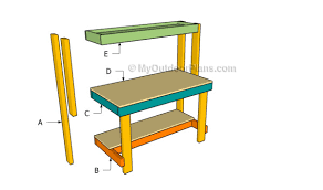 how to build a work table how to build a work bench myoutdoorplans free woodworking plans