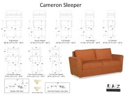 King Size Sleeper Sofa Sectional by Cameron Sleeper Sofa Shelburne Vermont Modern Furniture