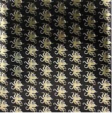 octopus wrapping paper octopus gift wrap paper black gold 1 roll