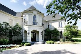 French Chateau Style Stone U0026 Stucco French Chateau In Sugar Land Tx Homes Of The Rich