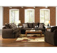 Santa Cruz Brown Pc Living Room Group Badcock More - Badcock furniture living room set