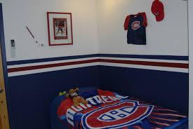 chambre canadien de montreal deco chambre garcon hockey visuel 8
