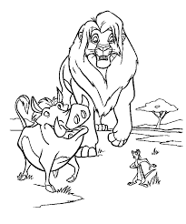 coloring page the lion king coloring pages 26