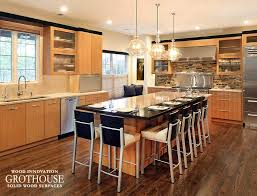 double kitchen islands double island kitchen ovation cabinetry kitchen bars wood countertop butcherblock and bar top blog