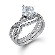interlocking engagement ring wedding band wedding favors cool engagement ring wedding band set designer