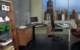 Corner Desk For Office Decor Modern Furniture Ideas With Bdi Sequel Desk For Office